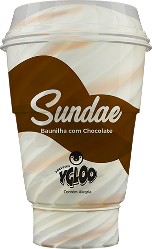 Baunilha com chocolate