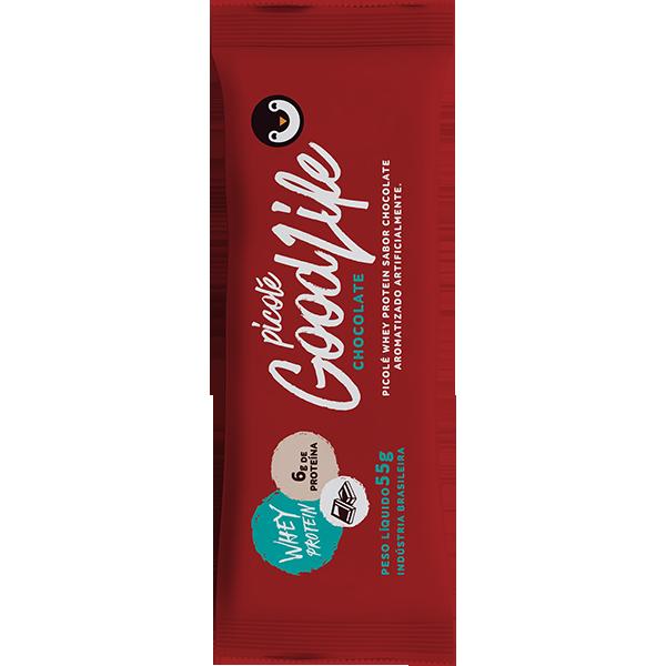 Picolé de whey protein