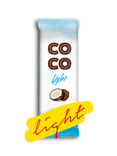 picolé light de coco