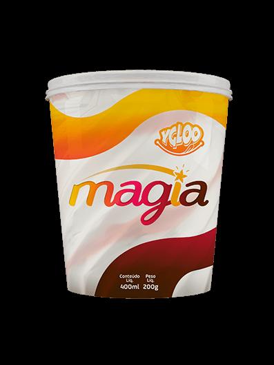linha de sorvete magia