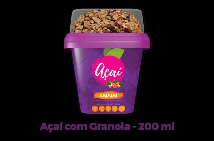 açaí guaraná com granola